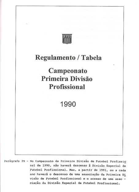 regulamento_paulista_1990