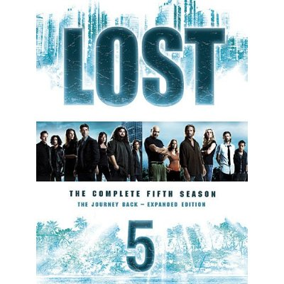 capa lost 5 season dvd